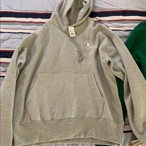 Champion reverse weave hoodie Nwt